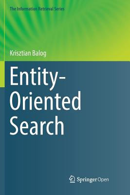 Entity-Oriented Search-cover