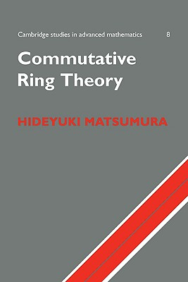 Commutative Ring Theory-cover