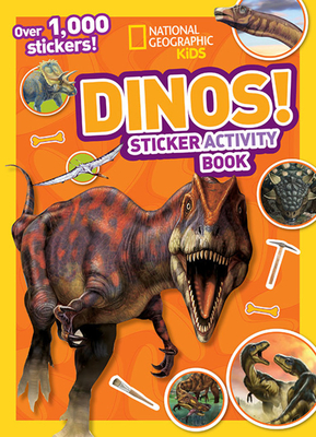 Dinos Sticker Activity Book [With Sticker(s)]-cover