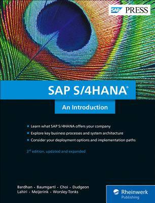 SAP S/4hana: An Introduction-cover