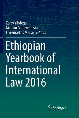 Ethiopian Yearbook of International Law 2016-cover