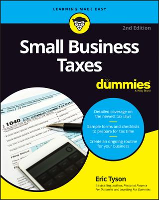 Small Business Taxes for Dummies-cover