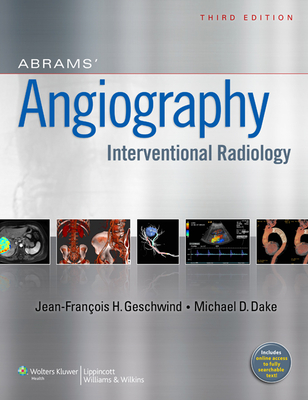Abrams' Angiography: Interventional Radiology-cover