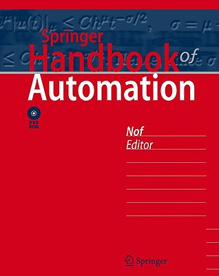 Springer Handbook of Automation [With DVD ROM]-cover