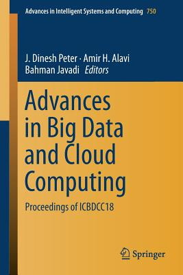 Advances in Big Data and Cloud Computing: Proceedings of Icbdcc18-cover