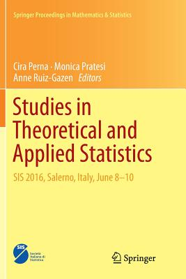 Studies in Theoretical and Applied Statistics: Sis 2016, Salerno, Italy, June 8-10-cover