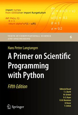 A Primer on Scientific Programming with Python, 5/e (Hardcover)-cover