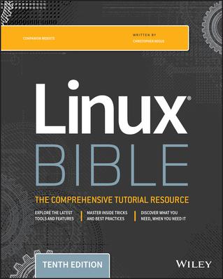 Linux Bible 10/e-cover