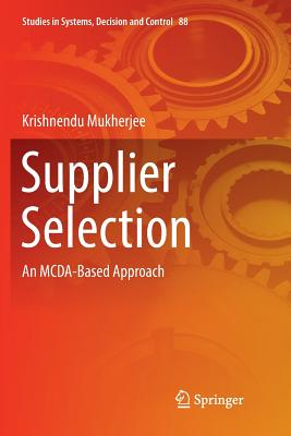 Supplier Selection: An McDa-Based Approach-cover