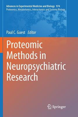 Proteomic Methods in Neuropsychiatric Research-cover