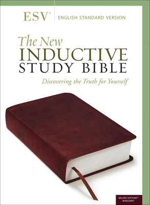 The New Inductive Study Bible (Esv, Burgundy)-cover