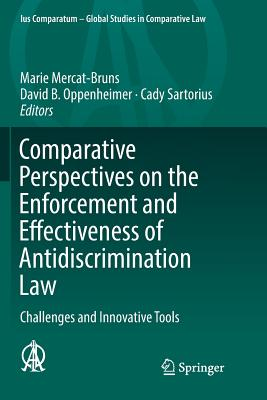 Comparative Perspectives on the Enforcement and Effectiveness of Antidiscrimination Law: Challenges and Innovative Tools-cover
