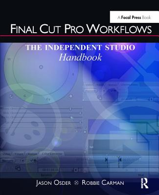 Final Cut Pro Workflows: The Independent Studio Handbook-cover