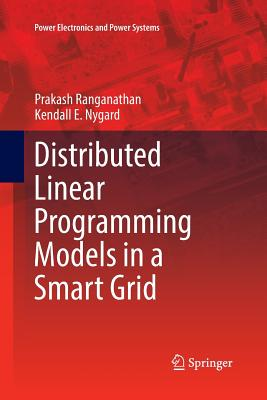 Distributed Linear Programming Models in a Smart Grid-cover