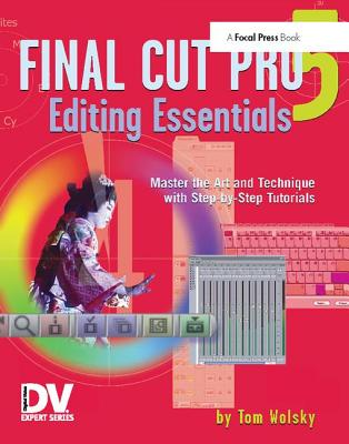 Final Cut Pro 5 Editing Essentials-cover