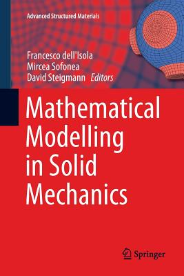 Mathematical Modelling in Solid Mechanics-cover