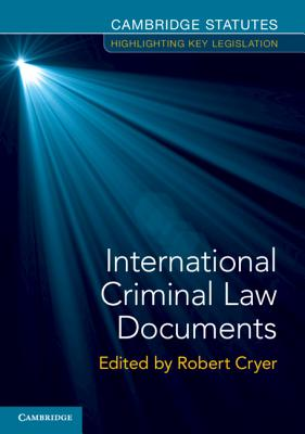 International Criminal Law Documents-cover