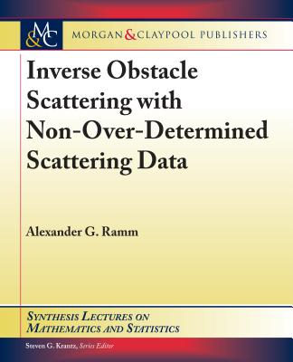 Inverse Obstacle Scattering with Non-Over-Determined Scattering Data-cover