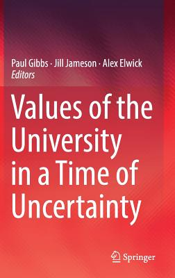 Values of the University in a Time of Uncertainty-cover