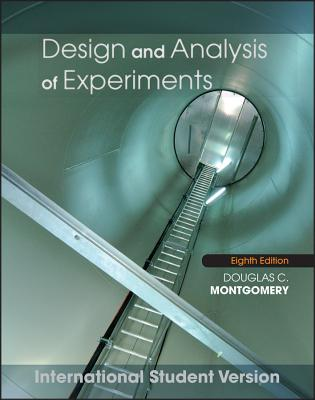 Design and Analysis of Experiments, 8/e (IE-Paperback)-cover