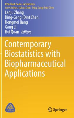 Contemporary Biostatistics with Biopharmaceutical Applications-cover