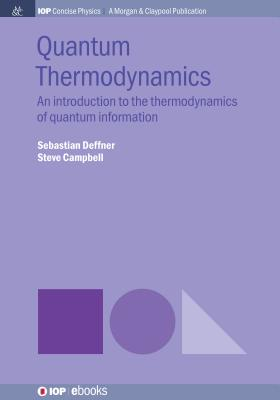 Quantum Thermodynamics: An Introduction to the Thermodynamics of Quantum Information-cover