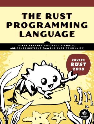 The Rust Programming Language (Covers Rust 2018)-cover