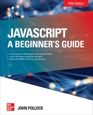 JavaScript a Beginner's Guide Fifth Edition-cover