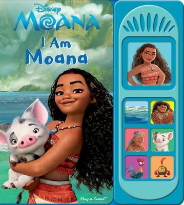 Disney Moana: I Am Moana-cover