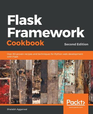 Flask Framework Cookbook, Second Edition-cover