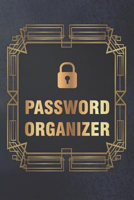 Password Organizer: Internet Password Log Book to Keep Your Private Information Safe - With A-Z Tabs-cover