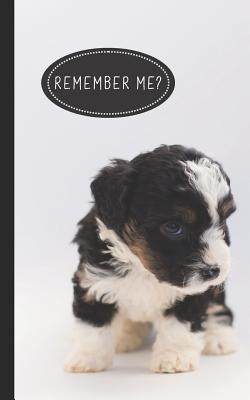 Remember Me?: Discreet Internet Password Organizer - Store Websites, Usernames, Passwords - Cute Puppy Dog Lovers-cover