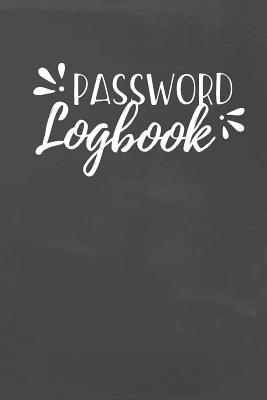 Password Logbook: Organizer to Protect Usernames and Passwords for Internet Websites and Services - With Tabs-cover