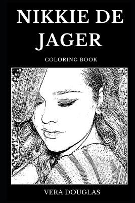 Nikkie de Jager Coloring Book: Legendary YouTube Makeup Artist and Famous Beauty Vlogger, Fashion Icon and Millennial Star Inspired Adult Coloring Bo-cover