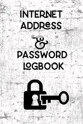Internet Address & Password Logbook-cover