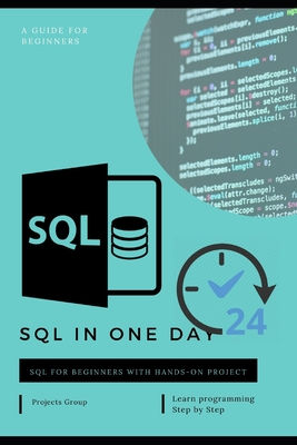 SQL in one day: The Ultimate Beginner's Guide to Learn SQL Programming Step by Step-cover