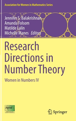 Research Directions in Number Theory: Women in Numbers IV-cover