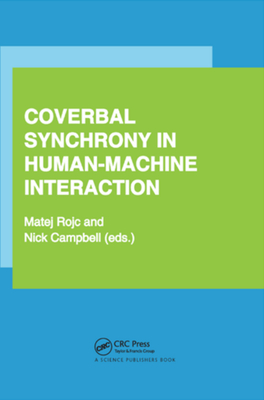 Coverbal Synchrony in Human-Machine Interaction-cover