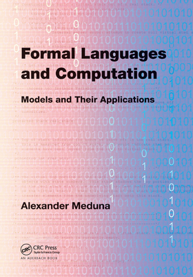Formal Languages and Computation: Models and Their Applications-cover