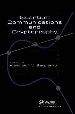 Quantum Communications and Cryptography-cover