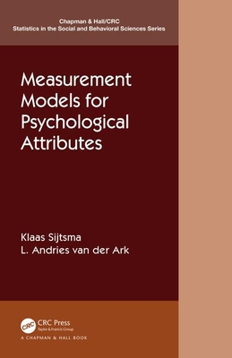 Measurement Models for Psychological Attributes-cover