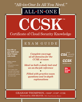 CCSK Certificate of Cloud Security Knowledge All-in-One Exam Guide-cover