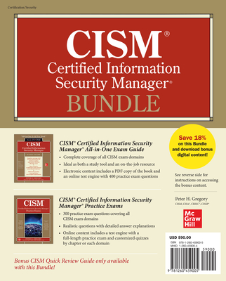 CISM Certified Information Security Manager Bundle-cover