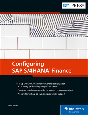 Configuring SAP S/4hana Finance-cover