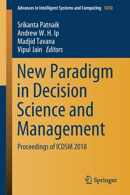 New Paradigm in Decision Science and Management: Proceedings of Icdsm 2018-cover