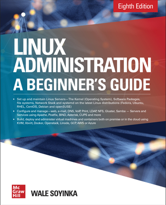 Linux Administration: A Beginner's Guide, Eighth Edition-cover