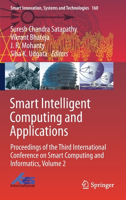 Smart Intelligent Computing and Applications: Proceedings of the Third International Conference on Smart Computing and Informatics, Volume 2-cover