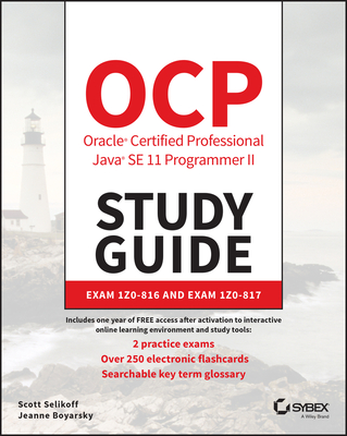 OCP Oracle Certified Professional Java SE 11 Programmer II Study Guide: Exam 1Z0-816-cover