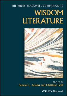 Wiley Blackwell Companion to Wisdom Literature-cover