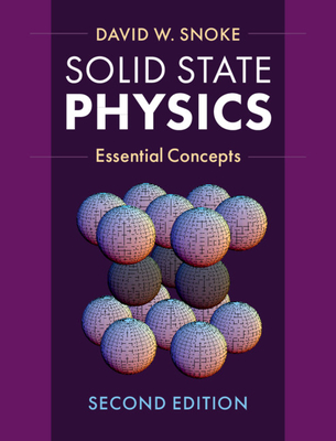 Solid State Physics: Essential Concepts (Hardcover)-cover